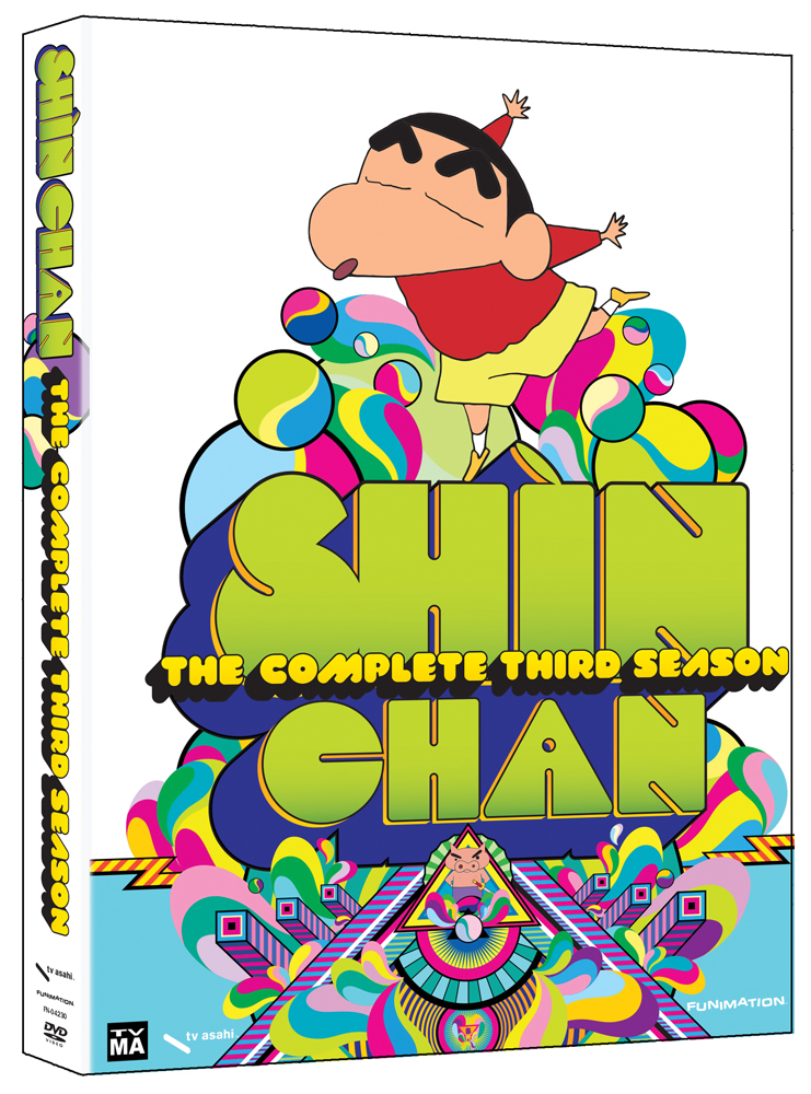 Shinchan Season 3 DVD 704400042300