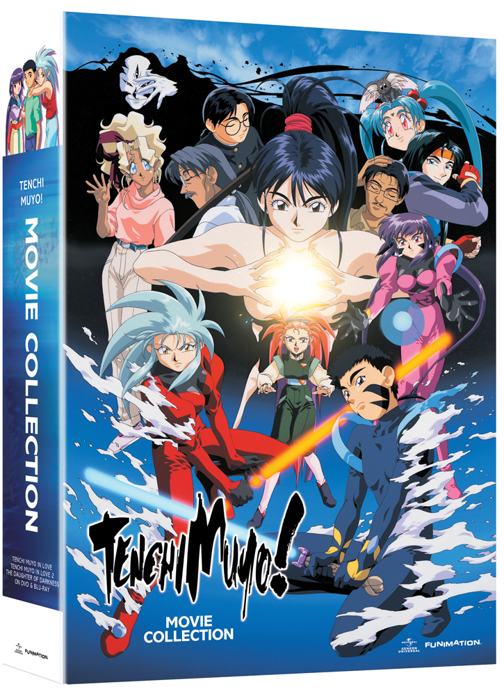Tenchi Muyo Movie Collection Limited Edition Blu-ray/DVD 704400042409