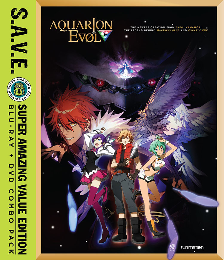Aquarion EVOL Season 2 Blu-ray/DVD SAVE Edition 704400045547