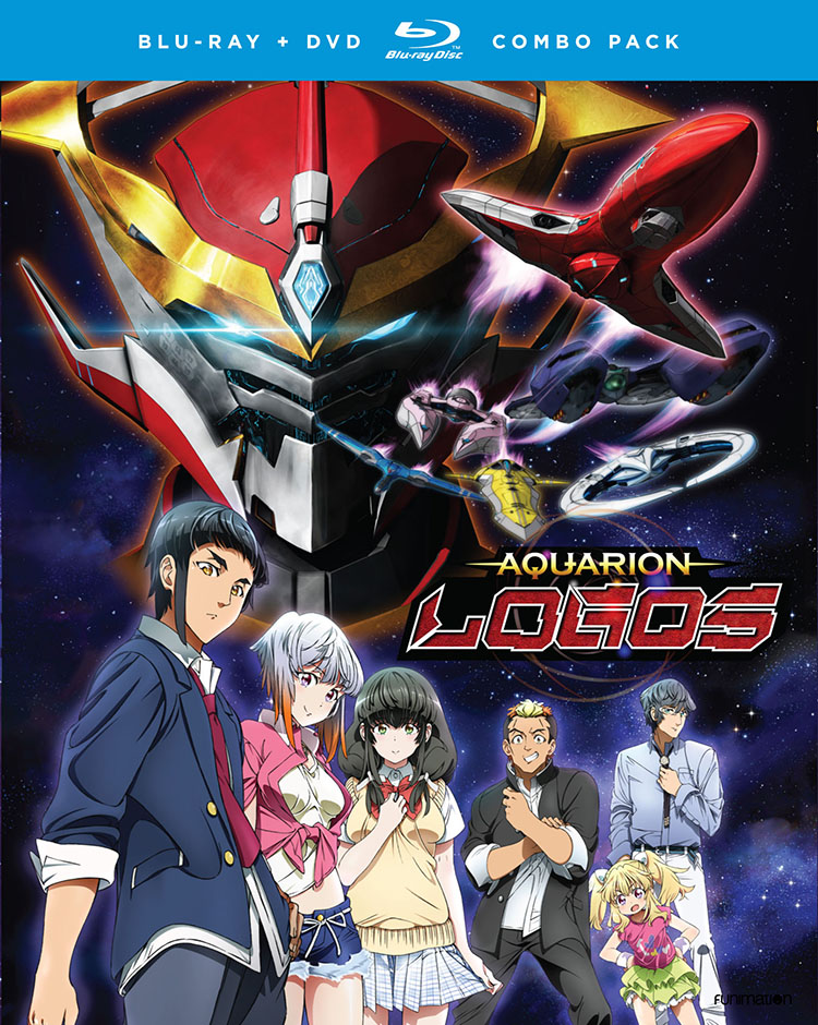 Aquarion Logos Season 3 Part 1 Blu-ray/DVD 704400045554