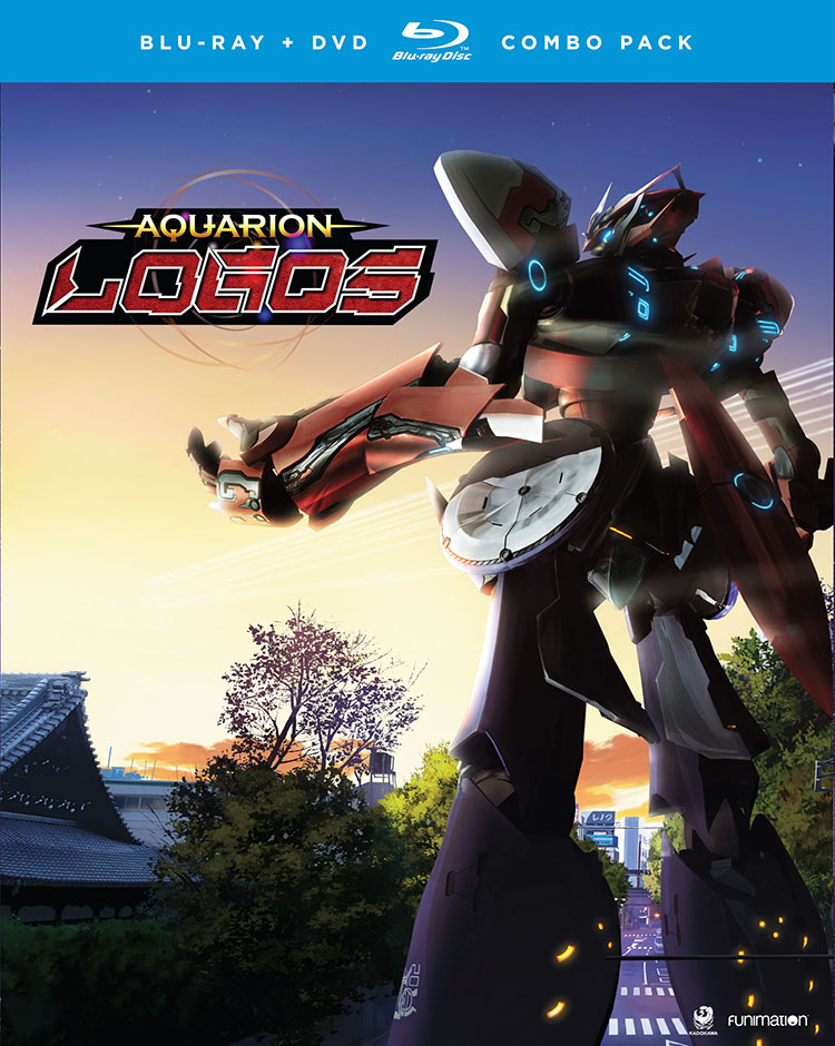 Aquarion Logos Season 3 Part 2 Blu-ray/DVD 704400045561
