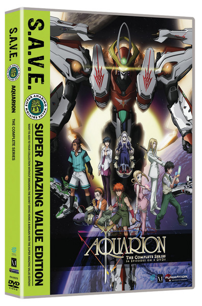 Aquarion Complete Series DVD SAVE Edition