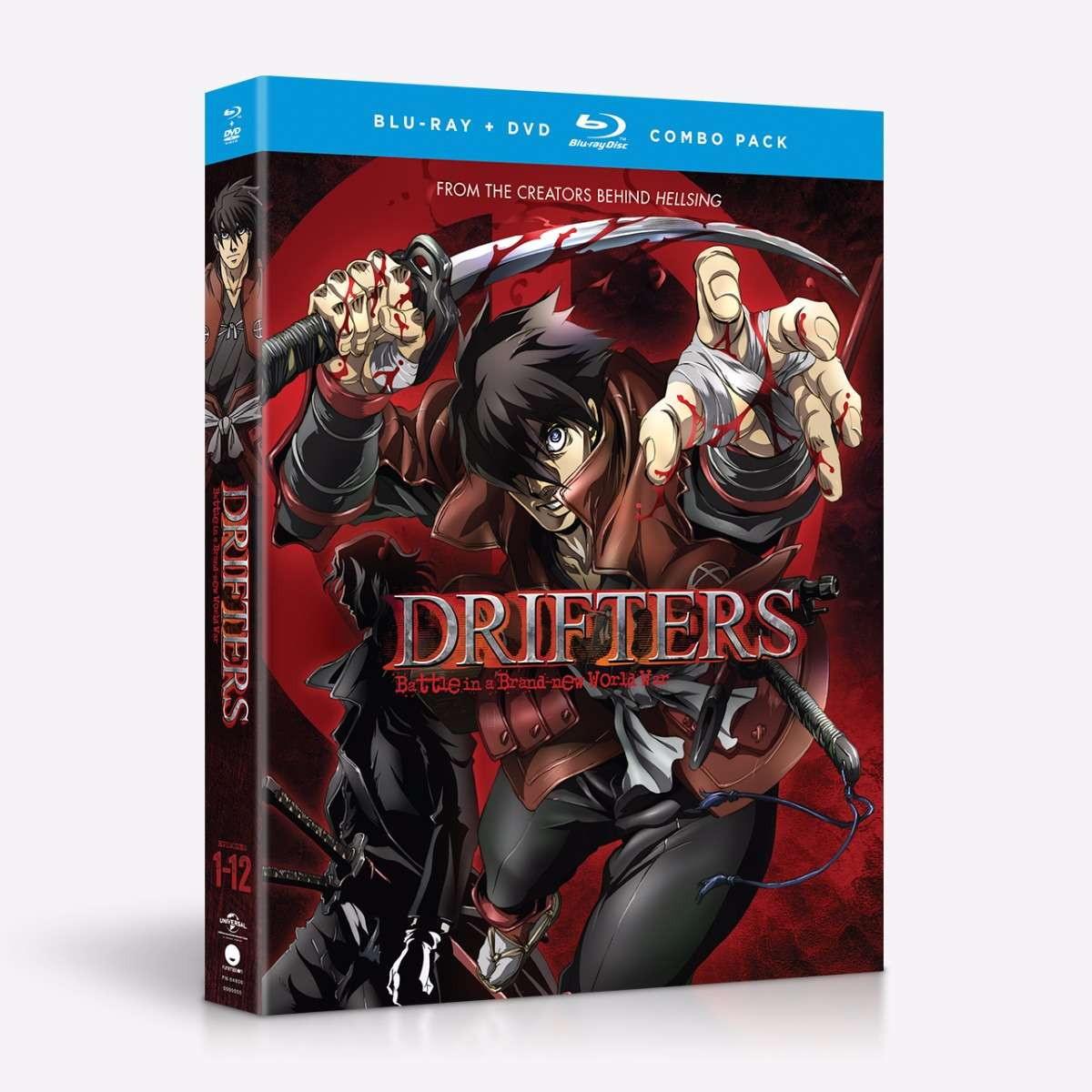 Drifters Complete Series Blu-ray/DVD 704400046063