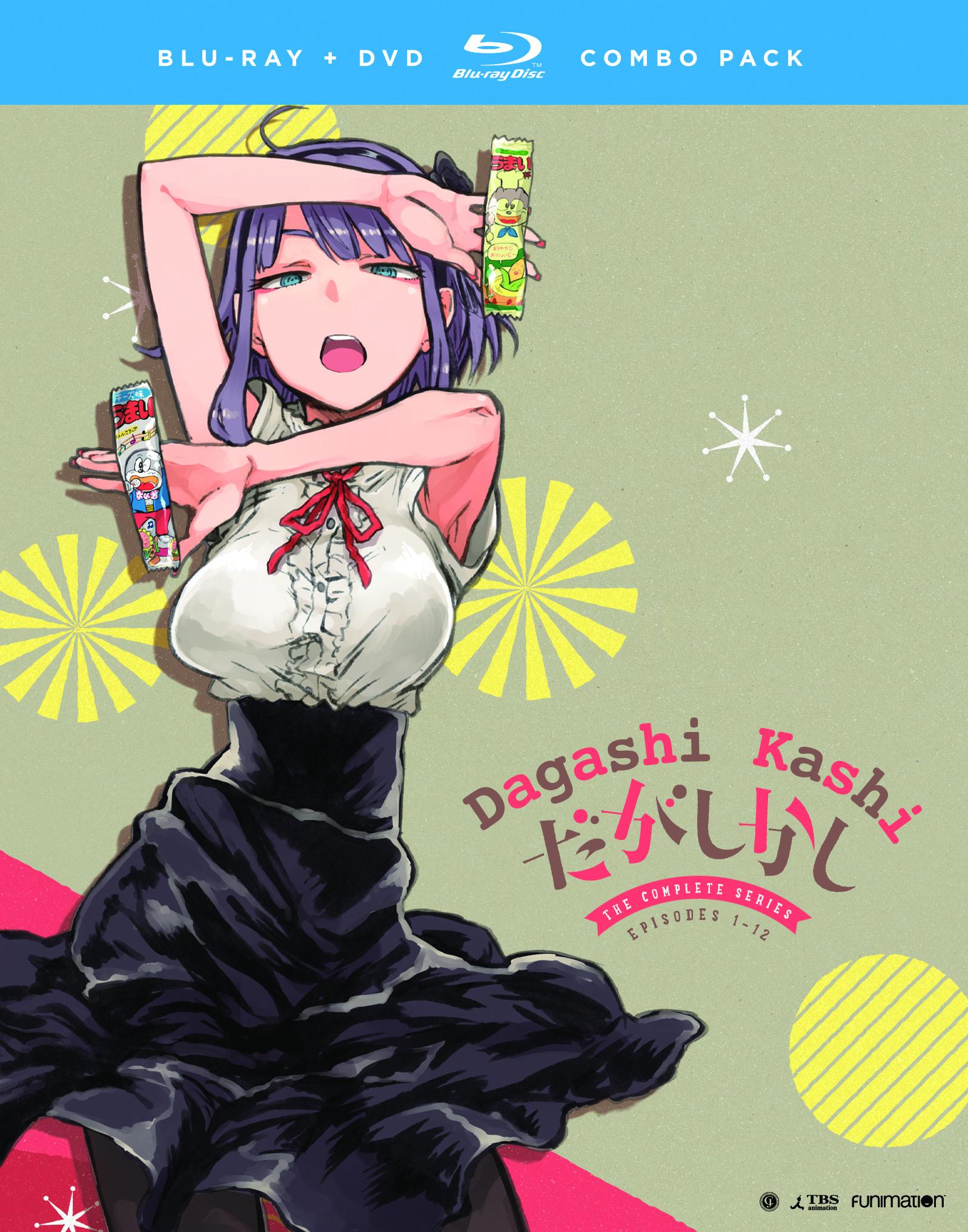 Dagashi Kashi Blu-ray/DVD 704400046902