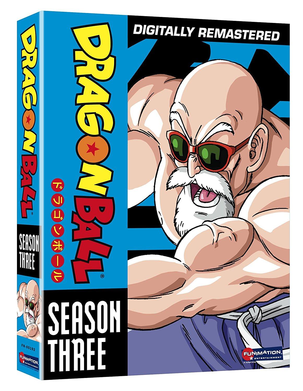 Dragon Ball Season 3 DVD Uncut