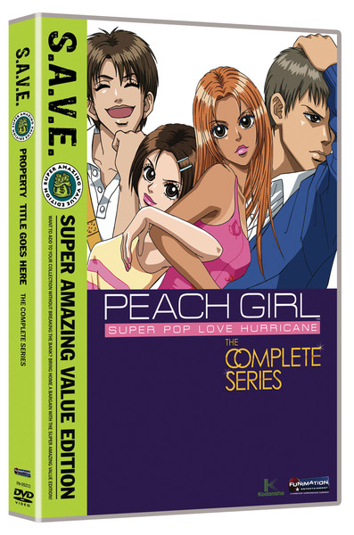 Peach Girl Complete Series DVD SAVE Edition