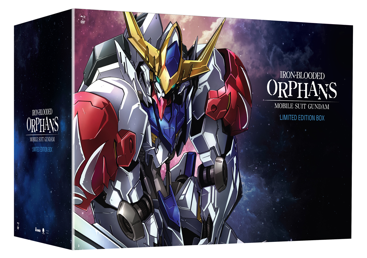 Mobile Suit Gundam Iron Blooded Orphans Season 2 Limited Edition Blu-ray/DVD 704400052347