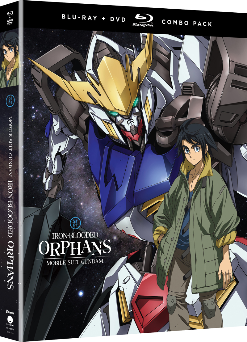 Mobile Suit Gundam Iron-Blooded Orphans Season 1 Part 1 Blu-ray/DVD 704400052361