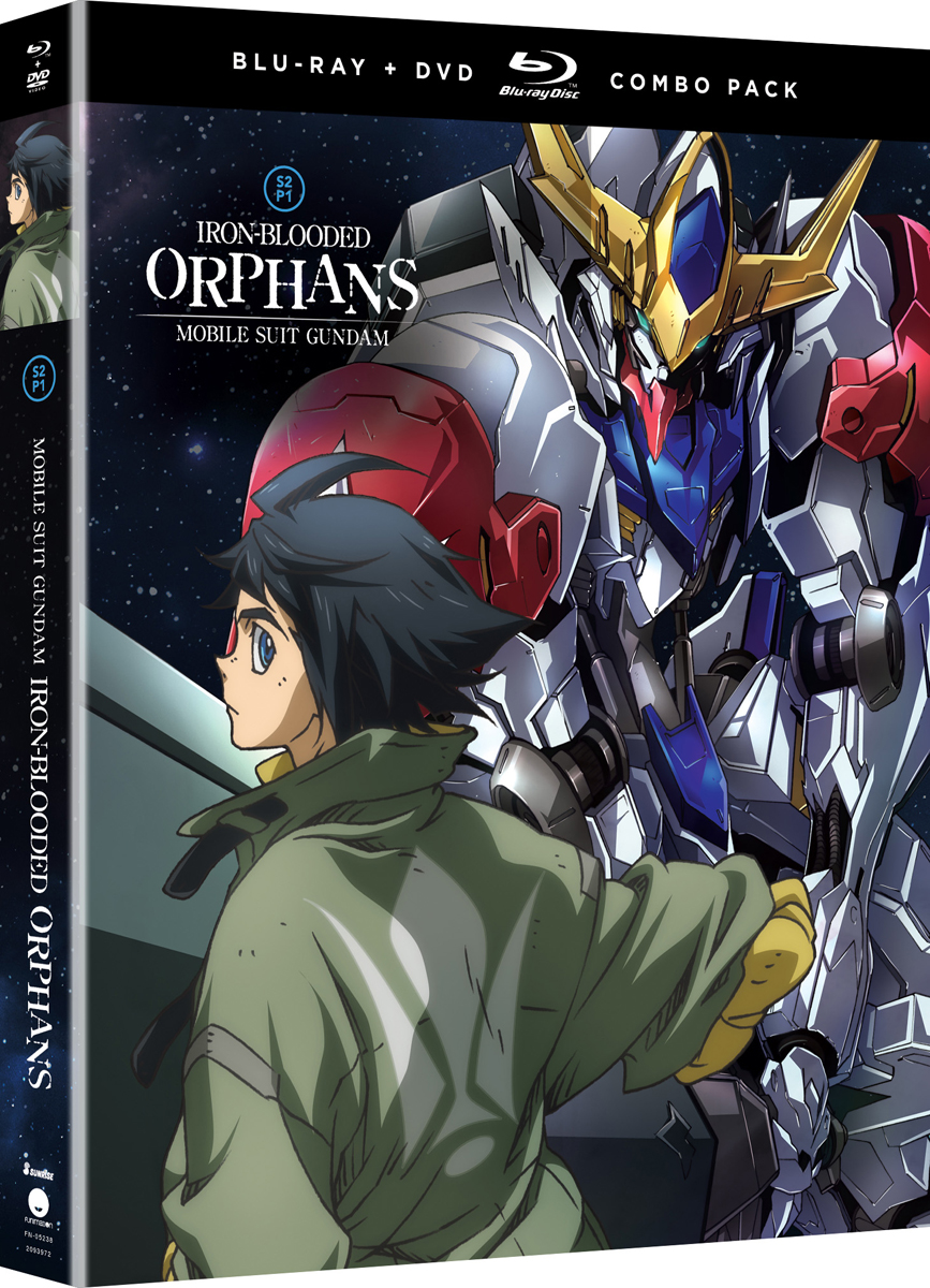 Mobile Suit Gundam Iron-Blooded Orphans Season 2 Part 1 Blu-ray/DVD