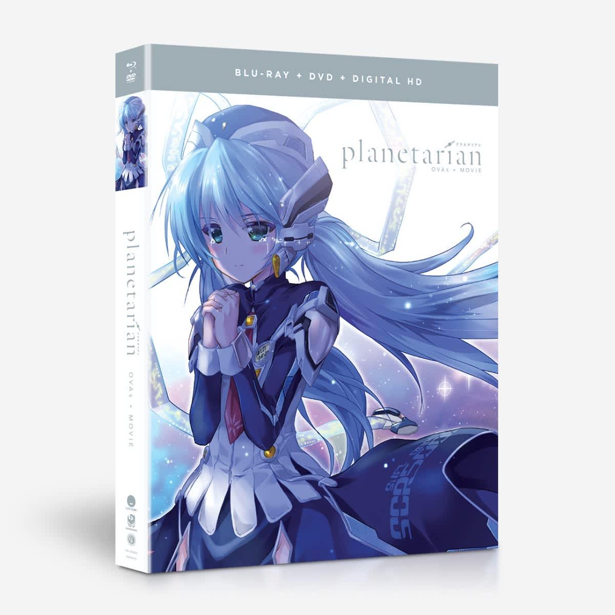 Planetarian OVAs + Movie Blu-ray/DVD 704400052804