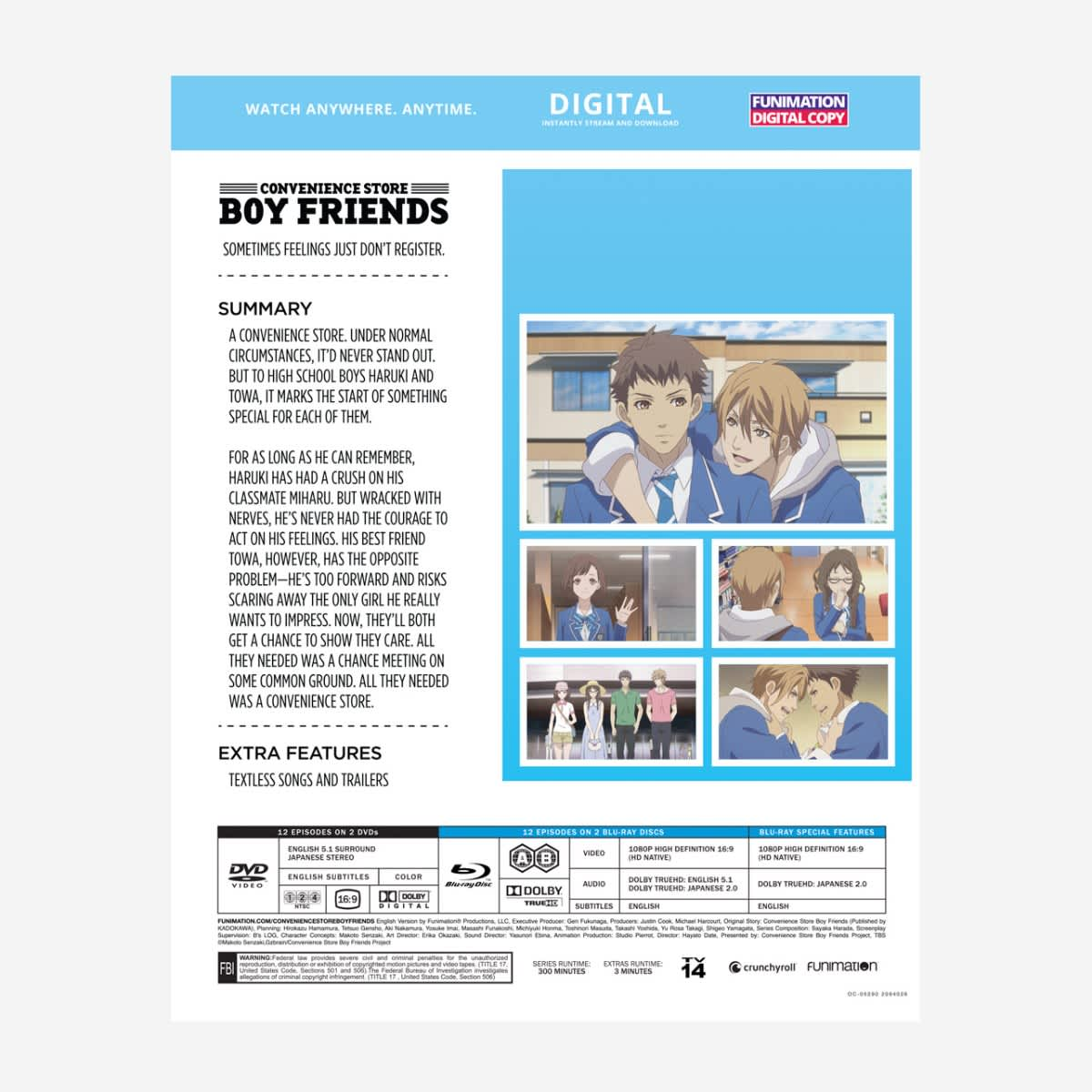 Convenience Store Boy Friends Blu-ray/DVD