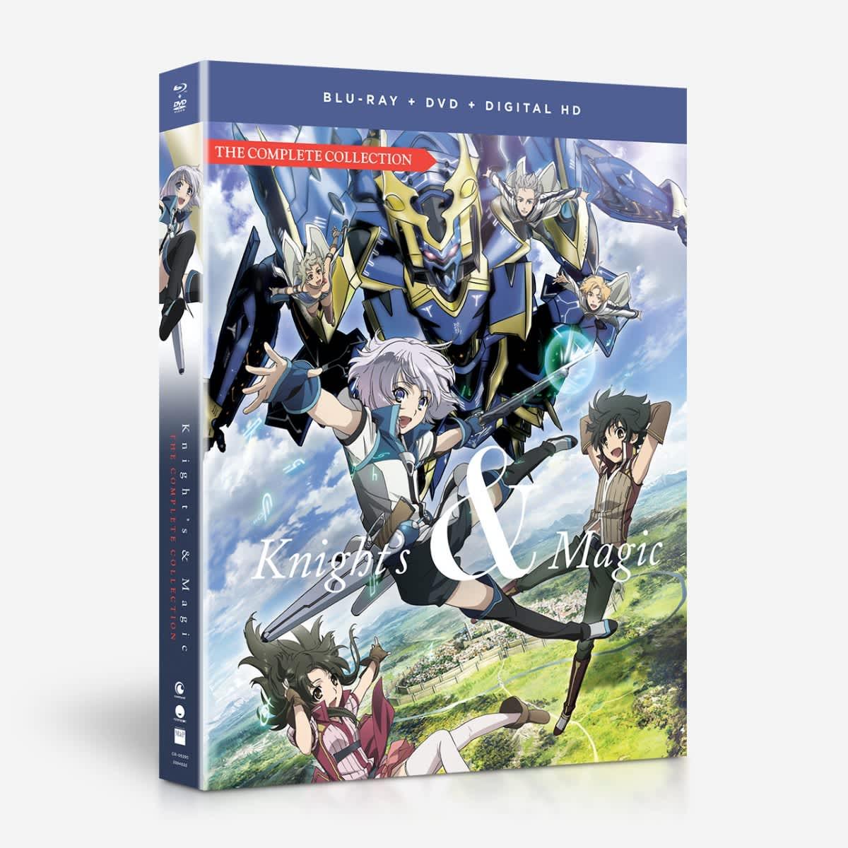 Knight's & Magic Blu-ray/DVD 704400052958
