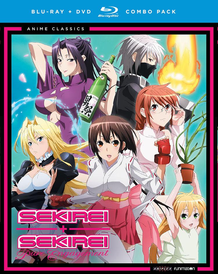 Sekirei The Complete Series Blu-ray/DVD Anime Classics 704400058394