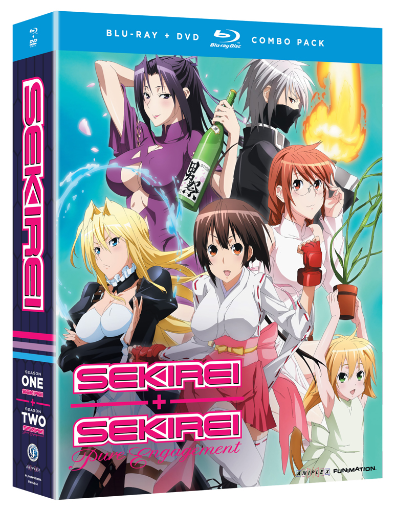 Sekirei Complete Collection Blu-ray/DVD 704400058448