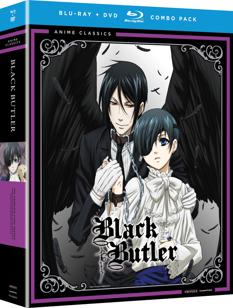 Black Butler Season 1 Blu-ray/DVD Anime Classics 704400058493