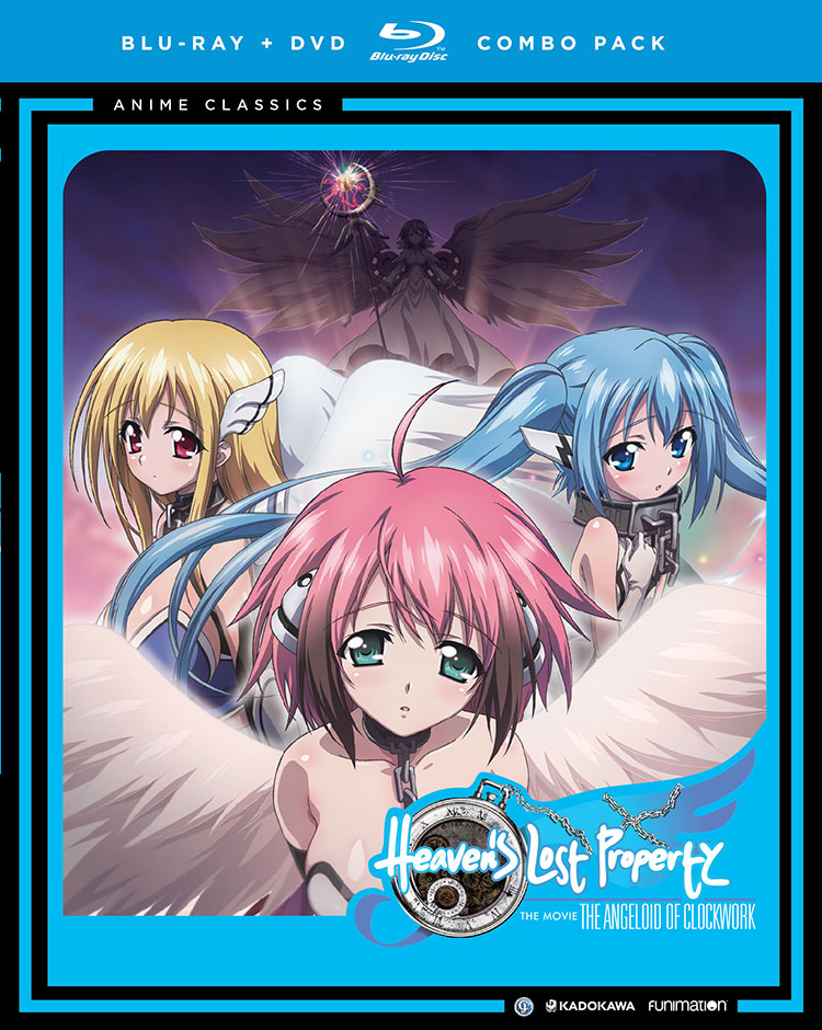 Heaven's Lost Property Movie Angeloid of Clockwork Blu-ray/DVD 704400058776