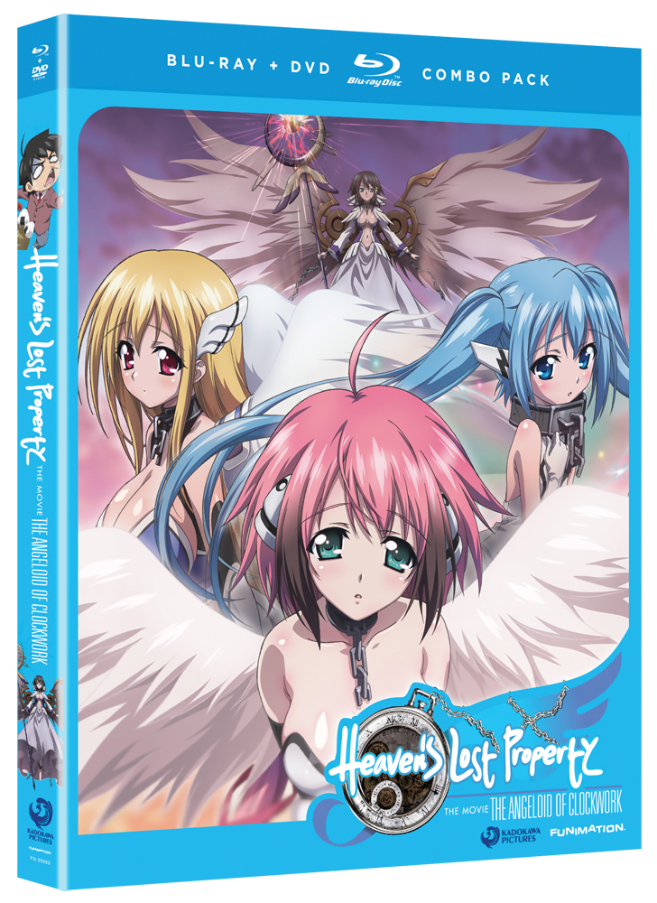 Heaven's Lost Property Movie Angeloid of Clockwork Blu-ray/DVD 704400058837