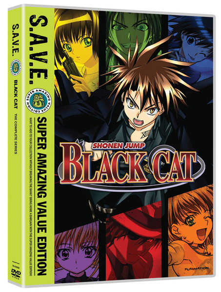 Black Cat Complete Series DVD SAVE Edition