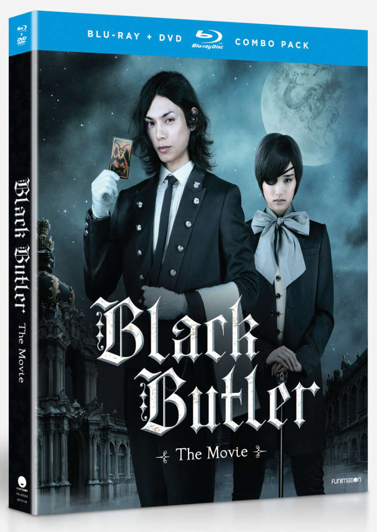 Black Butler The Movie Blu-Ray/DVD 704400059322