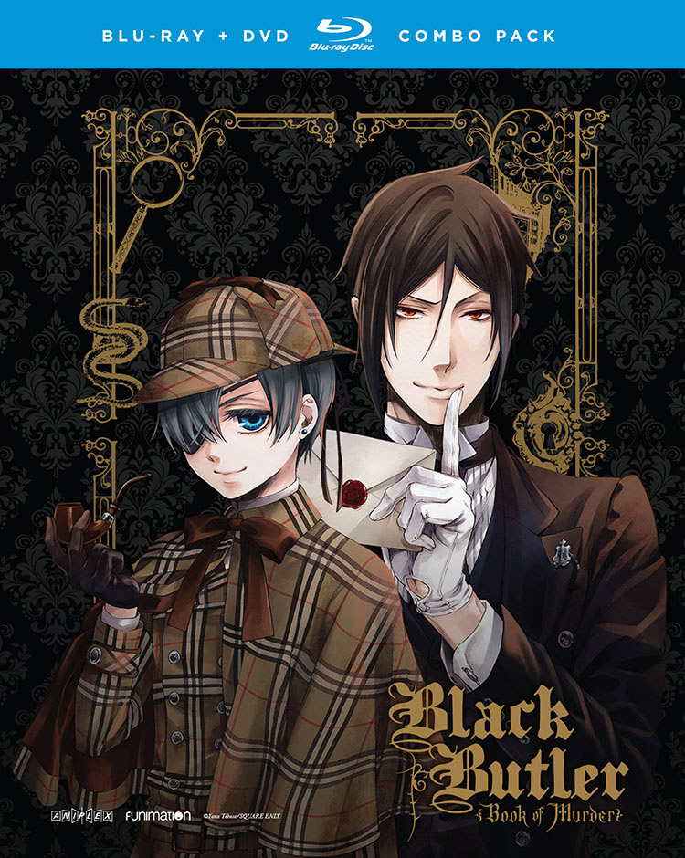 Black Butler Book of Murder OVA Blu-ray/DVD 704400059346