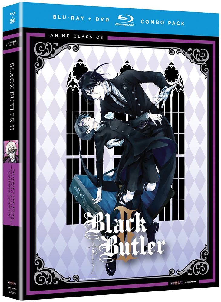 Black Butler Season 2 Blu-ray/DVD Anime Classics 704400059391