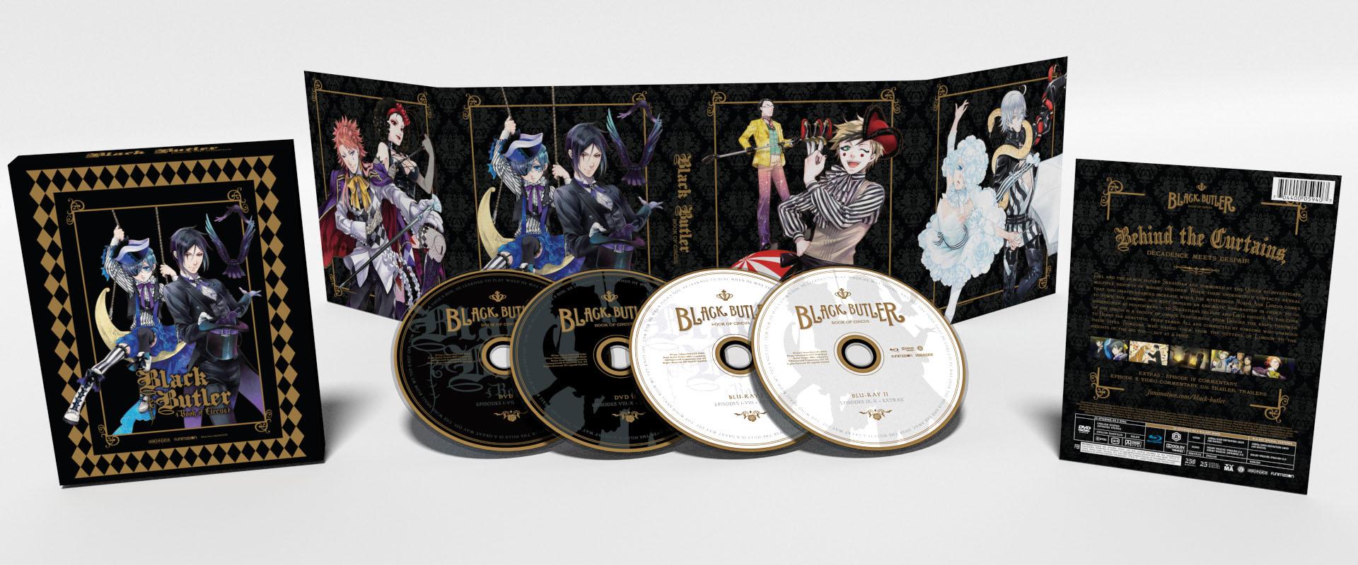 Black Butler Season 3 Limited Edition Blu-ray/DVD