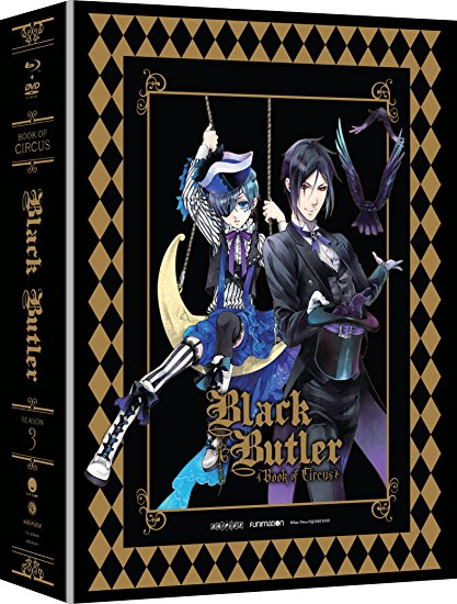 Black Butler Season 3 Limited Edition Blu-ray/DVD 704400059407