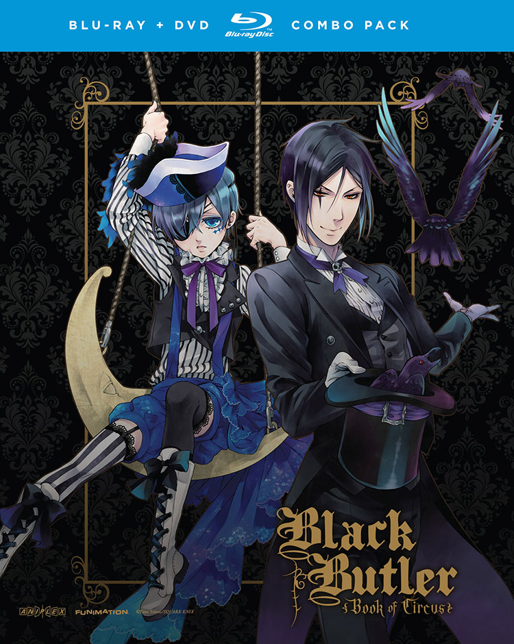 Black Butler Season 3 Blu-ray/DVD 704400059414