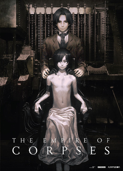 The Empire of Corpses DVD