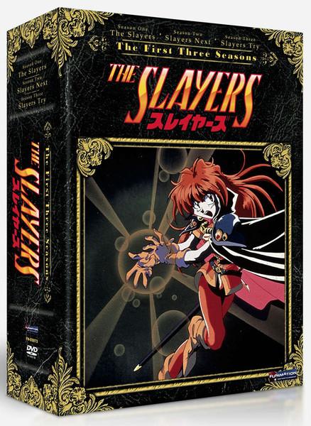 Slayers Season 1-3 DVD
