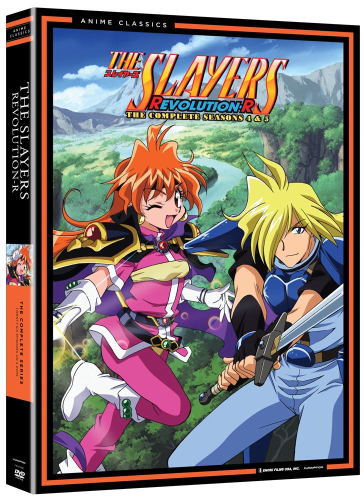 The Slayers Seasons 4-5 (Revolution/Evolution-R) DVD Anime Classics 704400059810