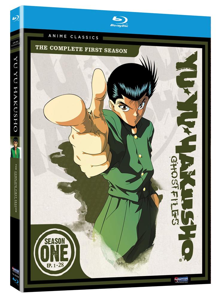 Yu Yu Hakusho Season 1 Blu-ray Anime Classics