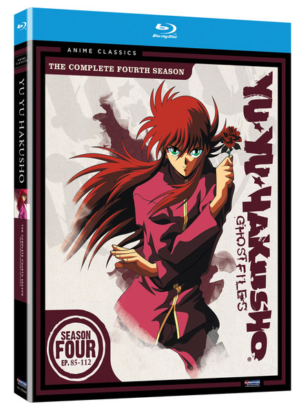 Yu Yu Hakusho Season 4 Blu-ray Anime Classics