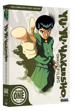 Yu Yu Hakusho Season 1 Box Set DVD 704400059933