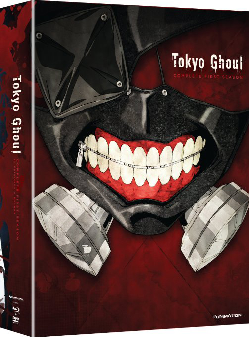 Tokyo Ghoul Season 1 Limited Edition Blu-ray/DVD 704400067334