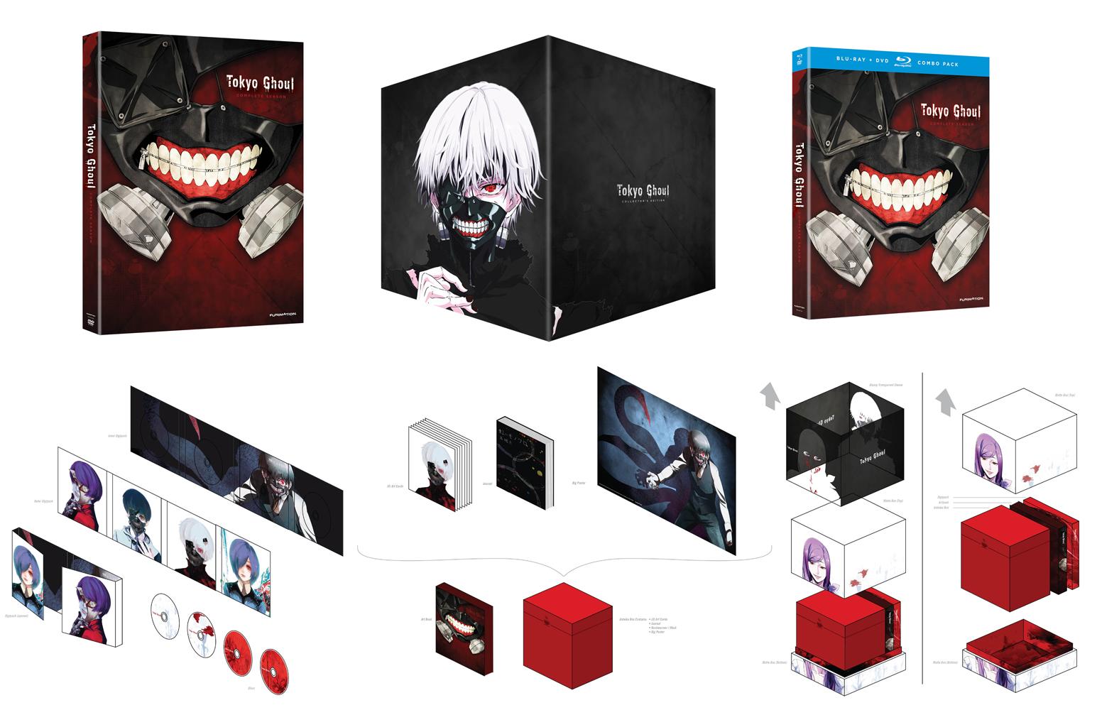 Tokyo Ghoul Season 1 Collector S Edition Bd Dvd