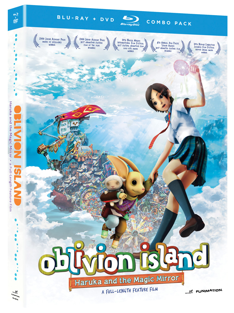Oblivion Island Haruka & the Magic Mirror Blu-ray/DVD 704400067419