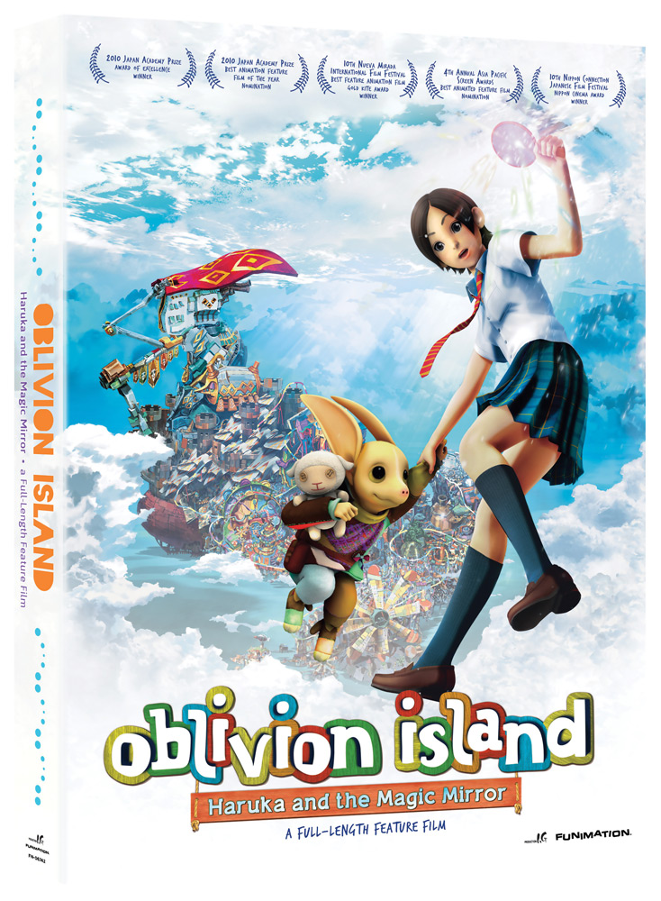 Oblivion Island Haruka & the Magic Mirror DVD 704400067426
