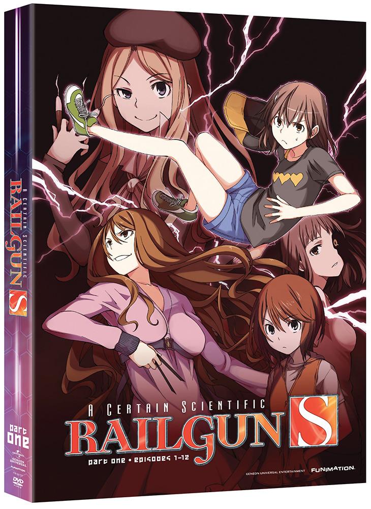 A Certain Scientific Railgun S (Season 2) Part 1 DVD 704400067570
