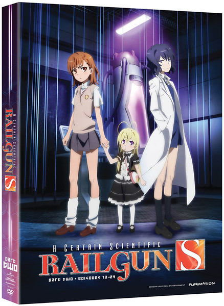 A Certain Scientific Railgun S Part 2 DVD