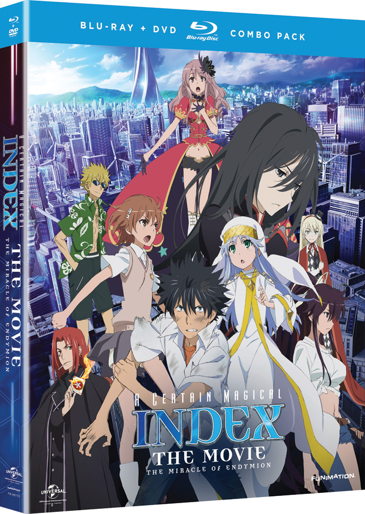A Certain Magical Index the Movie Miracle of Endymion Blu-ray/DVD 704400067655