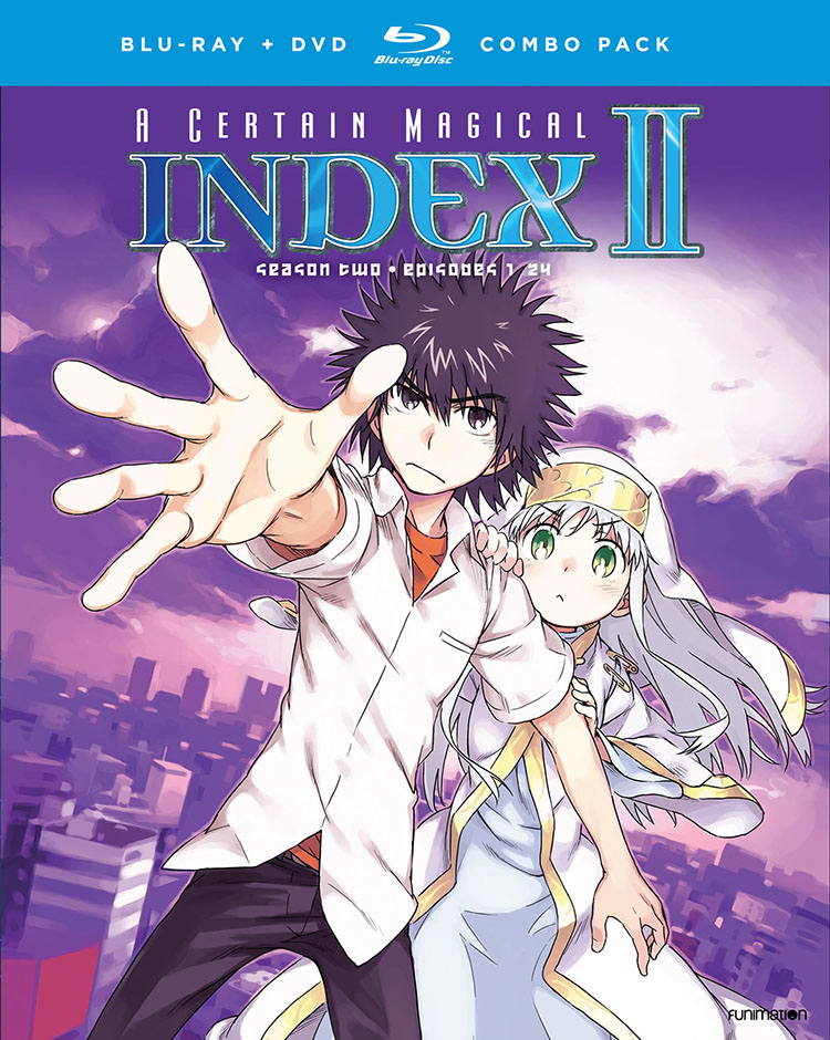 A Certain Magical Index Season 2 Blu-ray/DVD
