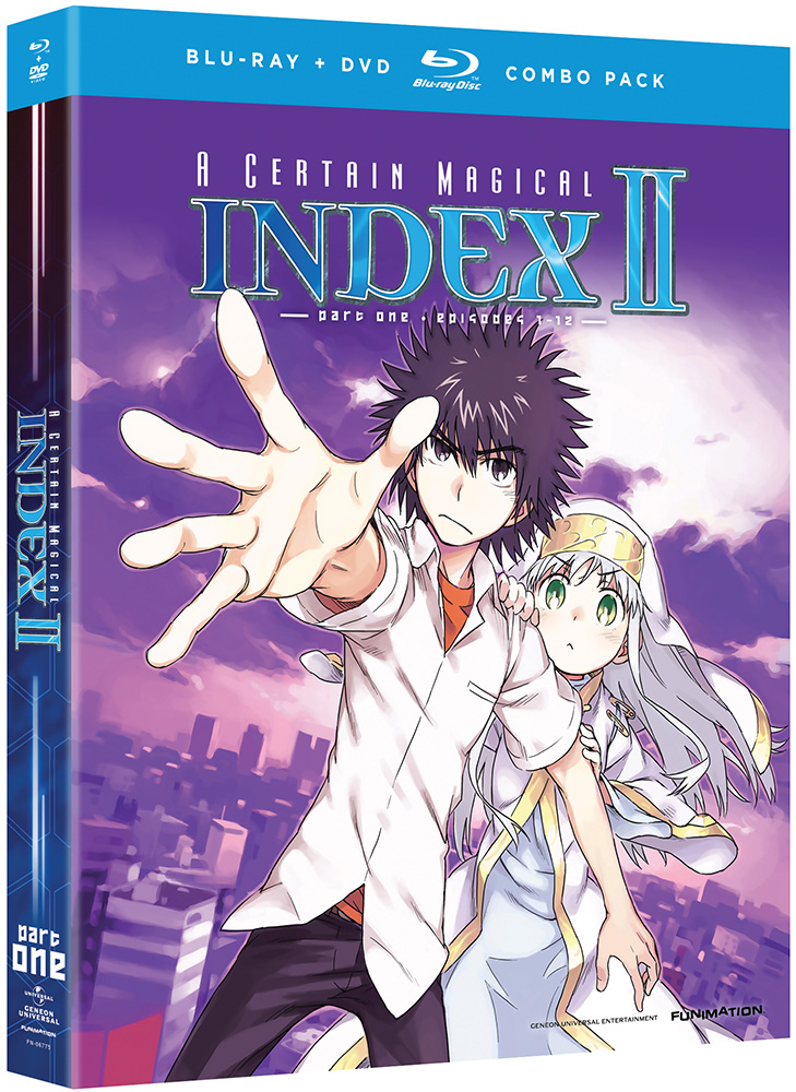 A Certain Magical Index II Part 1 Blu-ray/DVD 704400067754