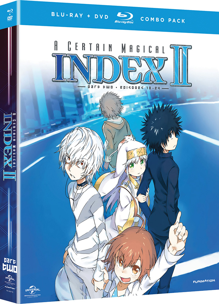 A Certain Magical Index II Part 2 Blu-ray/DVD 704400067761