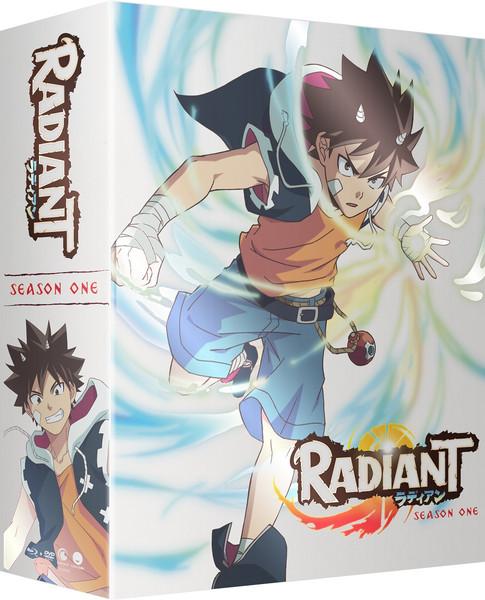 Radiant Season 1 Part 2 Limited Edition Blu-ray/DVD