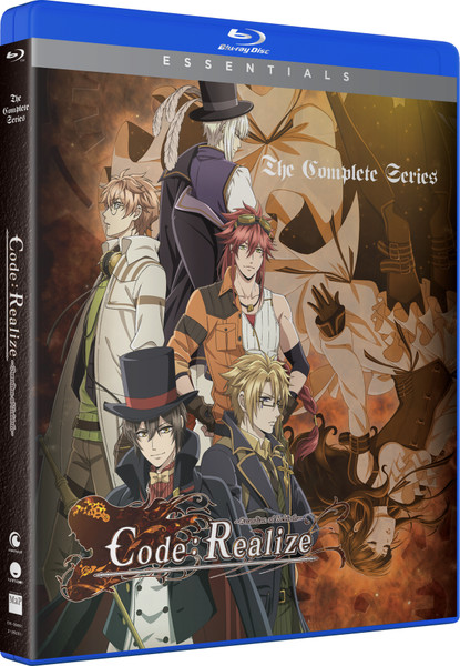 Code:Realize Guardian of Rebirth Essentials Blu-ray