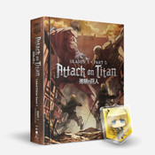 Attack on Titan Season 3 Part 2 Limited Edition Blu-ray/DVD + GWP