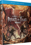 Attack on Titan Season 3 Part 2 Blu-ray/DVD + GWP
