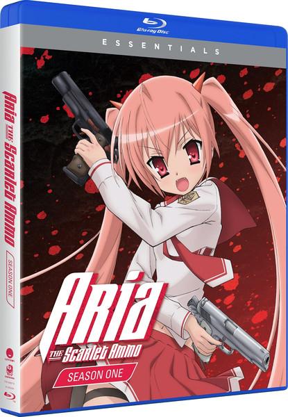 Aria the Scarlet Ammo Essentials Blu-ray