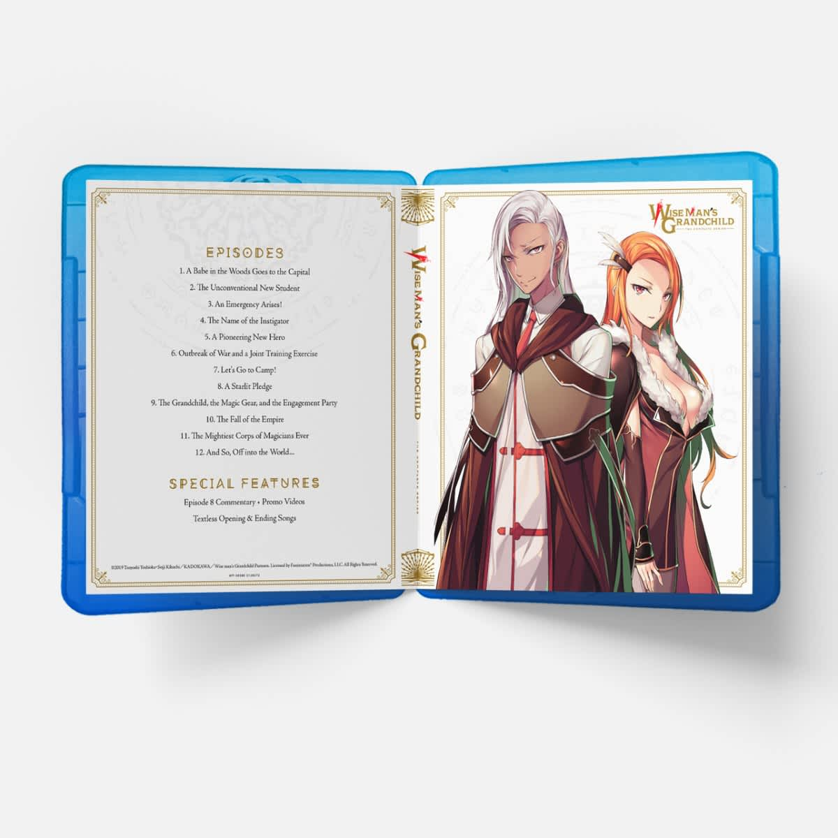 Wise Man's Grandchild Limited Edition Blu-ray/DVD